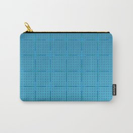 Glama Checks (Blues) Carry-All Pouch