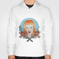 hayley williams Hoodies featuring Hayley Williams Wanted! by Toma.