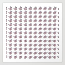 Dots and Dots - JUSTART © Art Print