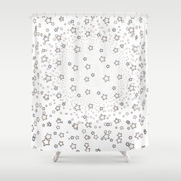 (You've Got Me) Seeing Stars Shower Curtain