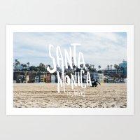 Beach Picker Art Print