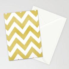 LINEN CHEVRON Stationery Cards