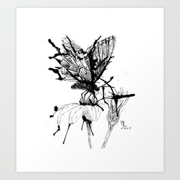 Tattered Art Print