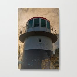 The Old Lighthouse at Cape Point Metal Print