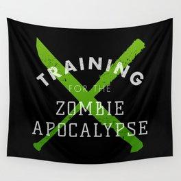 Training: Zombie Apocalypse Wall Tapestry