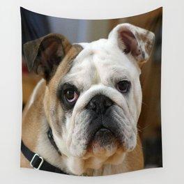 American Bulldog Wall Tapestry