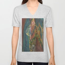 The Perennial Climax (Echo From the Cave) Unisex V-Neck