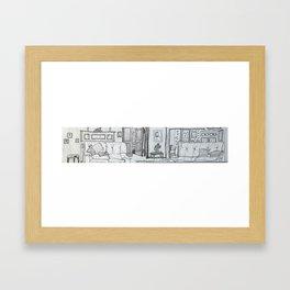 Knysna 7 February Framed Art Print