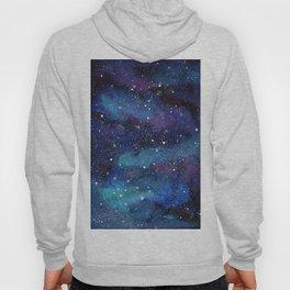 Galaxy Space Painting Stars Cosmic Universe Nebula Art Hoody