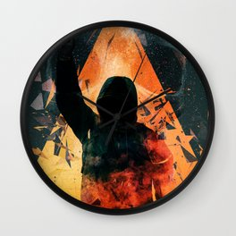 No way out Sci-Fi Surreal Art Wall Clock
