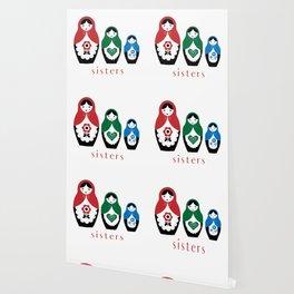 Matyroshka Nesting Dolls, Sisters Wallpaper