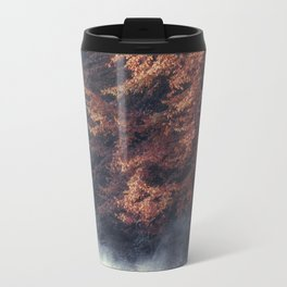 Nature's Mirror - Fall on the River Travel Mug