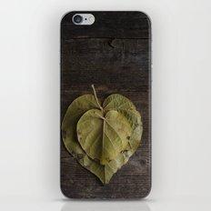 I heart leaves iPhone & iPod Skin