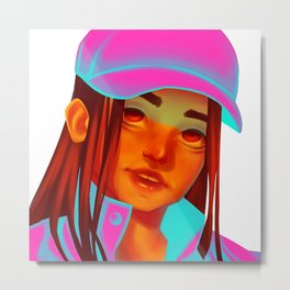 Colorful portrait series 1 Metal Print