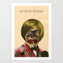 - la vie en écosse - Art Print