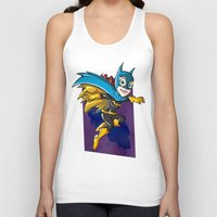 batgirl Tank Tops featuring Batgirl! by neicosta