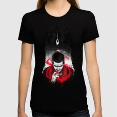 TW: First Blood Womens Fitted Tee Black SMALL
