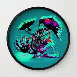 Zombie Crawl Wall Clock