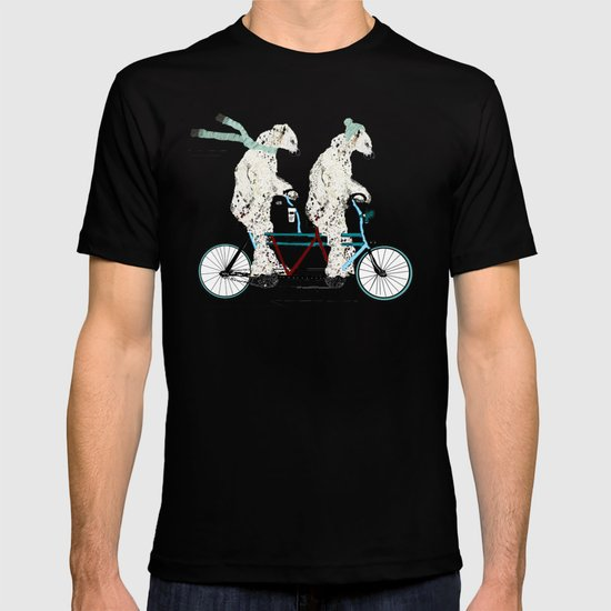 polar bears lets tandem T-shirt
