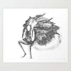 featherette Art Print