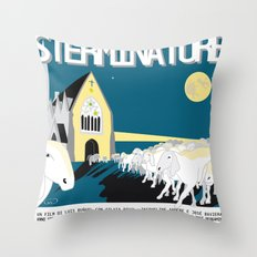 The exterminating angel Throw Pillow
