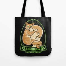 Facehuggers  Tote Bag