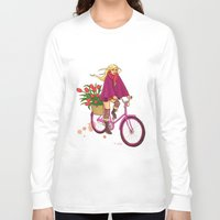 amsterdam Long Sleeve T-shirts featuring Amsterdam by Nila V