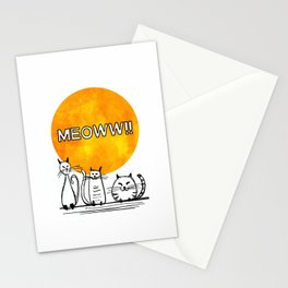 meow!! Stationery Cards