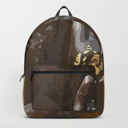 Buddha Hand Illustration Backpack