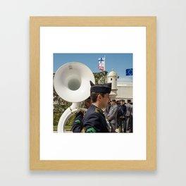 Pavillon Framed Art Print