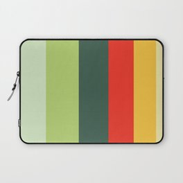 Orange Green Yellow Red Pattern Laptop Sleeve
