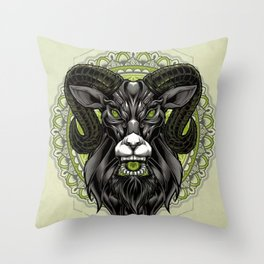 Sacram - Throw Pillow