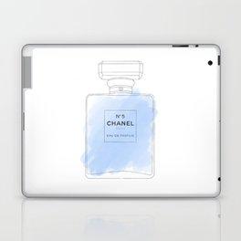 blue watercolor perfume Laptop & iPad Skin