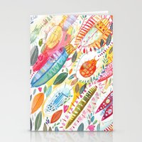 bugs Stationery Cards featuring Bugs by Mia Dunton