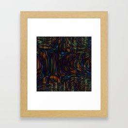 Daily Design 44 - Marrow Caverns Framed Art Print