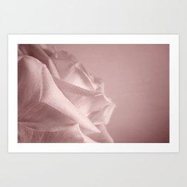 Rosy Blush Art Print