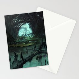From Hell to Heaven through the tree of knowledge Stationery Cards