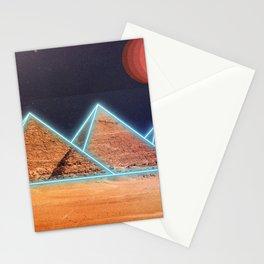 Neon Giza Stationery Cards