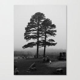 spooky tree III Canvas Print