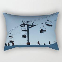 ski Rectangular Pillow