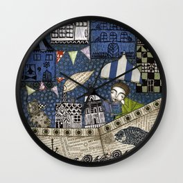 September Day Wall Clock