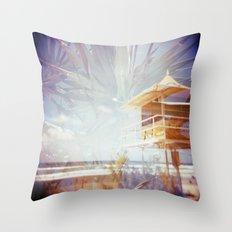 The Gold Coast Throw Pillow