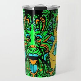 Face Your Chaos Travel Mug