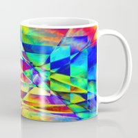 illusion Mugs featuring Illusion. by Assiyam
