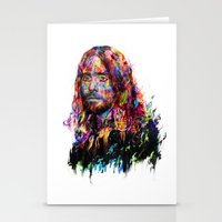 jared leto Stationery Cards featuring Jared Leto by ururuty