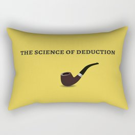 Sherlock Holmes Quote I Rectangular Pillow