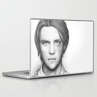 house md Laptop & iPad Skins featuring Dr. Chase-House MD-Jesse Spencer-Portrait by Olechka
