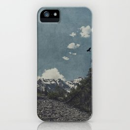 Hike a Mountain! iPhone Case