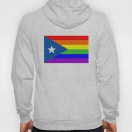 puerto rico gay people homosexual flag rainbow Hoody