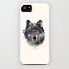 Wolf // Persevere  iPhone (5, 5s) Slim Case